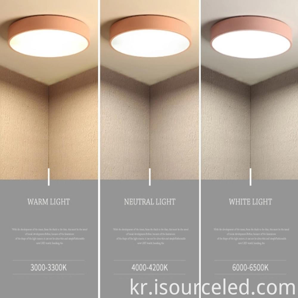 5000k acrylic modern led ceiling chandelier lights 10-30w