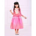 rosa Farbe Schlaf Schönheit Autora Kleid Kinder Prinzessin Kleid für Party tragen