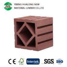 Columna compuesta plástica de madera para el ornamento de jardín al aire libre (HLM50)