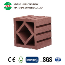 Wood Plastic Composite Column for Outdoor Garden Ornament (HLM50)