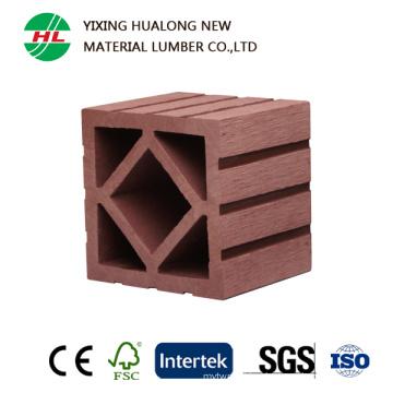 Wood Plastic Composite Column for Outdoor Garden Ornament (HLM50)