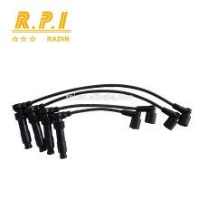 Câble d'allumage haute tension en silicone, SPARK PLUG WIRE FOR OPEL 1612598