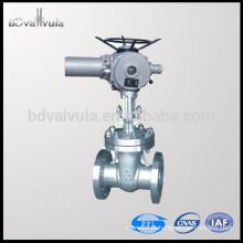 API 6D 6 polegadas motorizado válvula de portão de aço inoxidável 150lbs 300lbs 600lbs