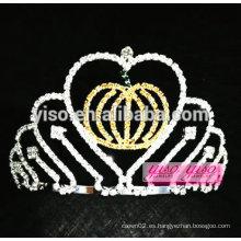 Tiara exótica exquisita de la fábrica de la calabaza de los accesorios del pelo de los cabritos