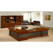 bright design new model office table with side desk