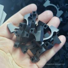 Braçadeiras de mangueira de separadores de alumínio 6061-t6