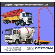 42m&48m 6X4 Cement Concrete Pump Truck