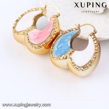 Fashion Hot-Selling 18k Gold-Plated African Style Big Imitation Jewelry Earring Hoop 91789