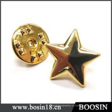 Оптовая Позолоченные Звезды Запонки #5931