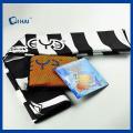 Serviette sèche à la fine pointe en microfibre imprimée (QHE99021)