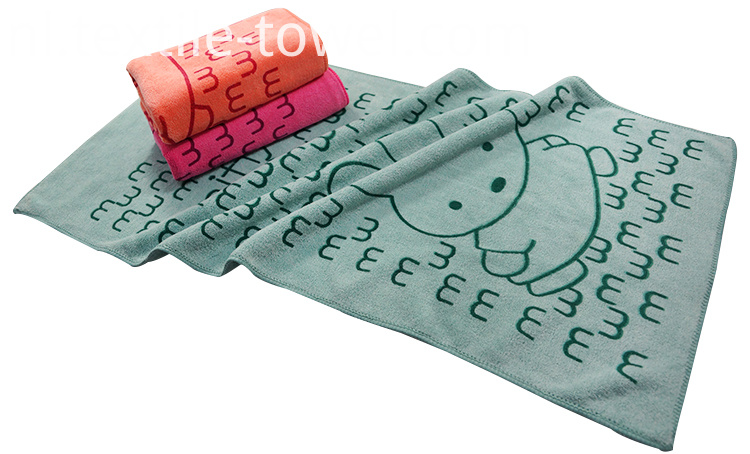 Printed Bath Towels