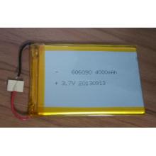 Batería recargable 606090 Li-Polímero de la batería 3.7V 4000mAh