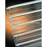 clear twin-wall polycarbonate sheet