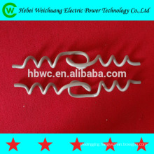 Helical armor rod of protect fittings
