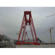 Electric hoist single girder gantry crane