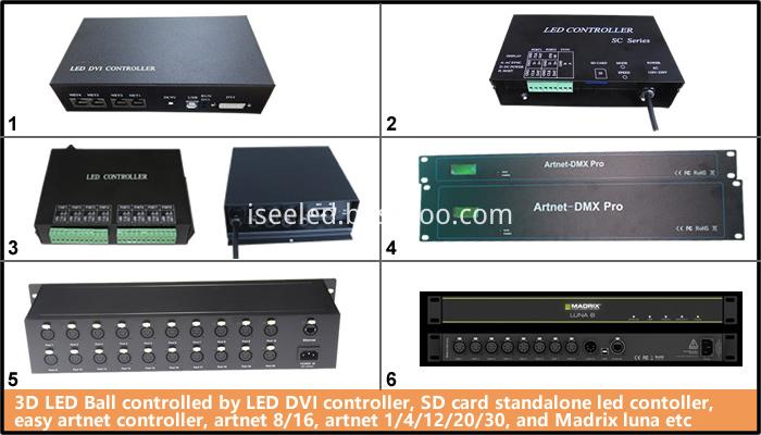 LED Controller for 3D Ball Light