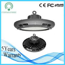 Luz alta da baía do diodo emissor de luz da microplaqueta 180W China do projeto do UFO
