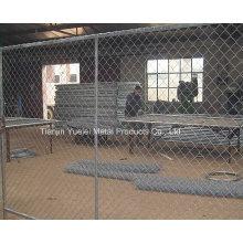Clôture en PVC soudé par moulures en PVC / clôture temporaire de sécurité / clôtures galvanisées