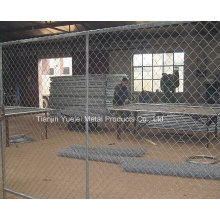 PVC Coated Welded Wire Mesh Fencing/Security Temporary Fencing/Galvanized Fencing