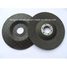 Fibra de vidro, almofada de apoio para fazer o disco abrasivo