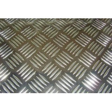 8mm Bending anodized 5052 Aluminium checkered plate with good skid resistance for boat deck