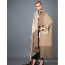 Кашемировый плащ-шарф