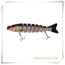 Plastic Fishing Lure with Vmc Hooks for Promotion (OS21003)