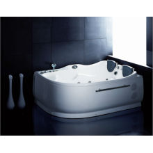 Home Use Bubble Massage Bathtub with Two Lounger (AM124)