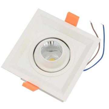 Lámpara empotrada de techo LED Downlight Lámpara LED de parrilla abajo