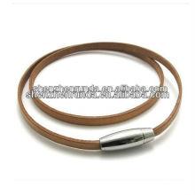 Jóias ny & colar colar de dano e colares de couro para as mulheres
