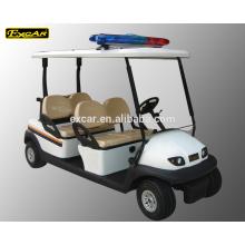 Voiture de golf de voiture de golf de voiture de golf de chariot de voiture de Trojan de 4 places à vendre