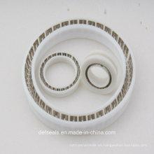 Sellos de Teflón / PTFE con resorte para juntas de válvula de bola