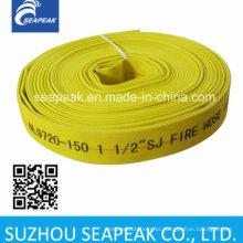 Mangueira de incêndio com cor amarela