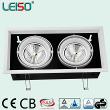 Downlight de 30W 1800 LED con fuente de luz AR111 (R2360-BWW)
