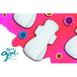100 cotton sanitary towels for women