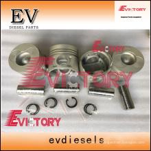 DAEWOO forklift engine piston DB33 piston ring