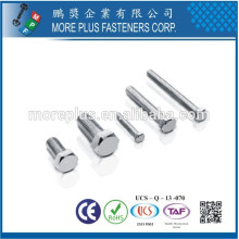 Made in Taiwan High Quality Carbon Steel DIN933 Hexagon Head Bolt