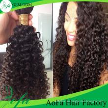 Extensión de calidad superior al por mayor del cabello humano de la armadura del pelo de la Virgen