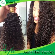 Extensão superior do cabelo humano do Weave do cabelo do Virgin da qualidade superior por atacado