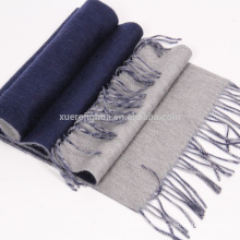 2016 nouveau produit double face foulard épais d'hiver