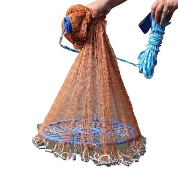 Factory Price India Cast Net Fishing Cast Net Throwing