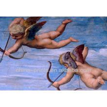 Pintura al óleo famosa del ángel de la pintura para la decoración casera