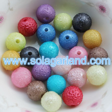 6/8 / 10MM Acrylique Round Imitation Swarovski Beads