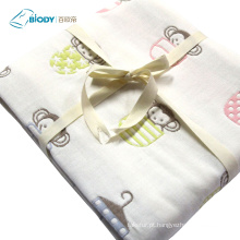 Manta Orgânica Multilayer Swaddle Blankets Bamboo Cotton