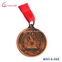 Пользовательские спорта медаль Античная латунь покрытием