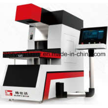 Marcação de laser de CO2 de grande escala Gld-350 para a marcação da indústria têxtil