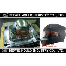 Molde plástico do escudo do capacete da motocicleta da injeção