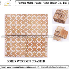 Eco-Friendly Verschiedene Design Wooden Coaster oder Table Mat