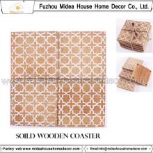 Diseño ecológico de varios diseños de madera o mesa de madera