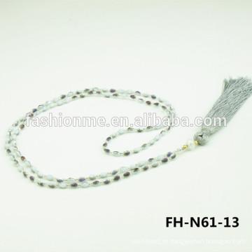 joia de colar de pingente de cristal de 2015